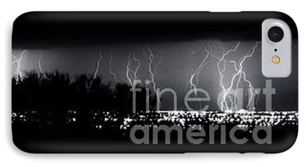 Darkness Symphony-15x72-signed IPhone Case by J L Woody Wooden