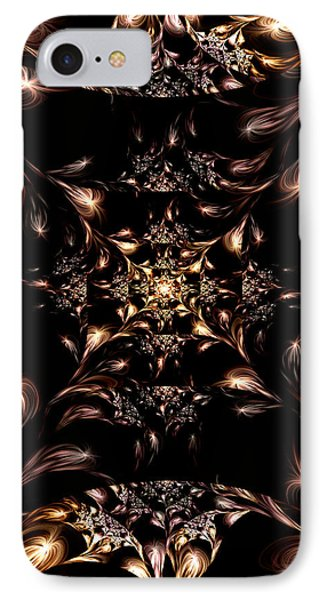 IPhone Case featuring the digital art Darkness Will Come by Lea Wiggins