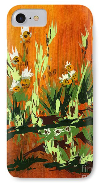 IPhone Case featuring the painting Darlinettas by Holly Carmichael