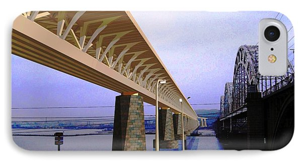 Darnitsky Bridge IPhone Case by Oleg Zavarzin