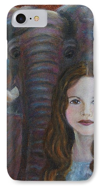 Darra  Little Angel Of                                    Feminine Wisdom And Understanding Phone Case by The Art With A Heart By Charlotte Phillips