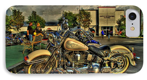 Darrell Keller Memorial Poker Run IPhone Case