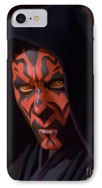 Darth Maul IPhone Case by Paul Tagliamonte