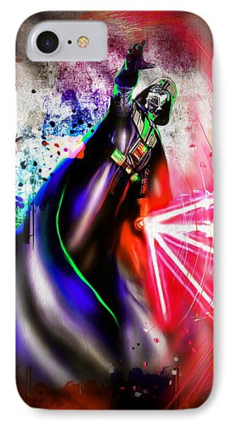 Darth Vader  IPhone Case by Daniel Janda