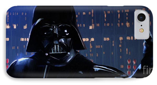 Darth Vader IPhone Case by Paul Tagliamonte