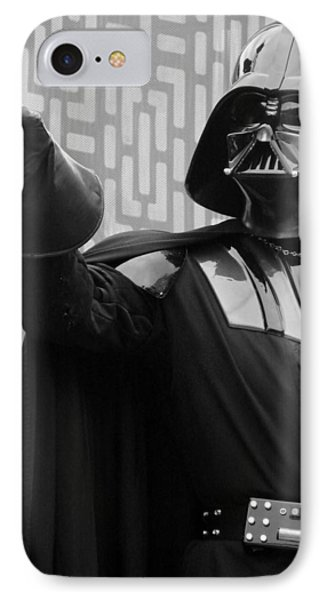 Darth Vader IPhone Case by Ramona Johnston