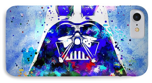 Darth Vader Star Wars IPhone Case by Daniel Janda
