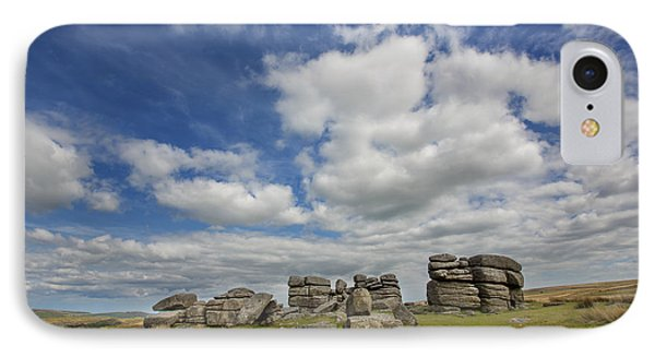 Dartmoor Tor IPhone Case