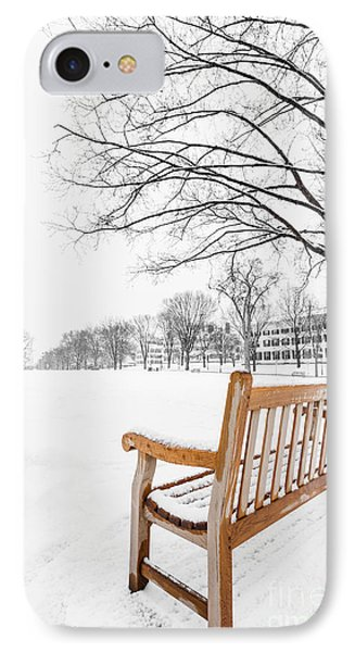 Dartmouth Winter Wonderland IPhone Case by Edward Fielding