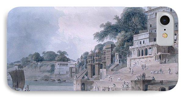 Dasasvamedha Ghat, Benares, Uttar IPhone Case