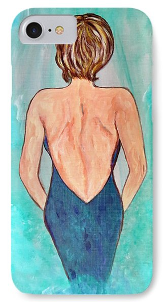 IPhone Case featuring the painting Date Night by Ella Kaye Dickey