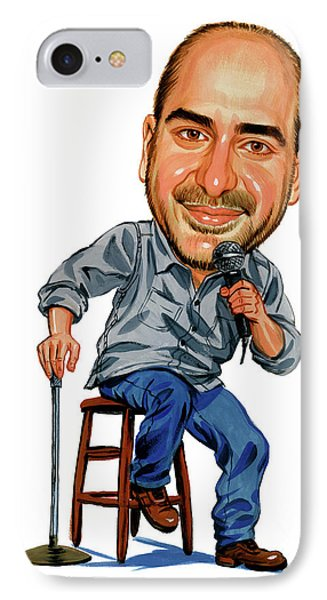 Dave Attell IPhone Case by Art