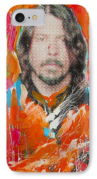 Dave Grohl IPhone Case by Elliott From