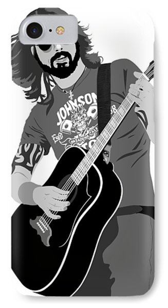 Dave Grohl IPhone Case by Paul Dunkel