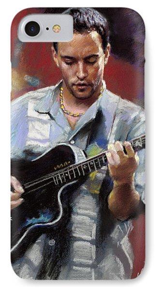 Dave Matthews IPhone Case by Viola El