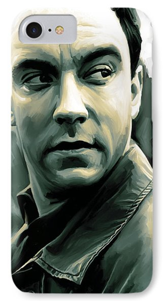 Dave Matthews Artwork IPhone Case by Sheraz A