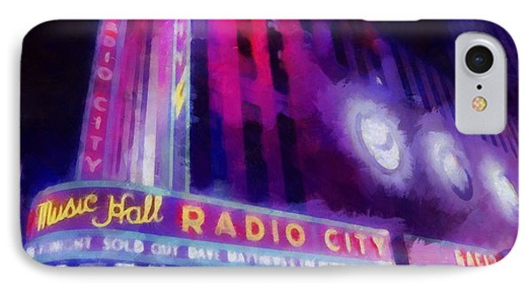 Dave Matthews At Radio City Music Hall IPhone Case by Dan Sproul