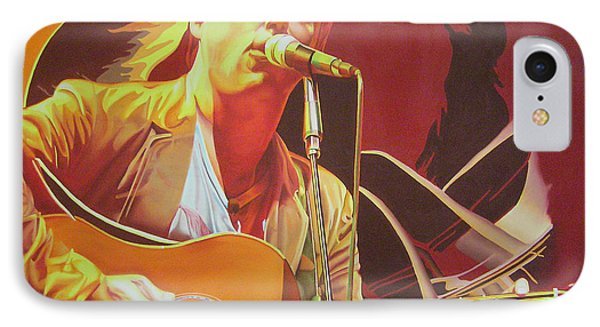 Dave Matthews At Vegoose IPhone Case by Joshua Morton
