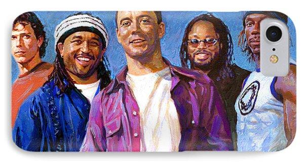 Dave Matthews Band IPhone Case by Viola El