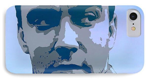 Dave Matthews Blue IPhone Case by Dan Sproul