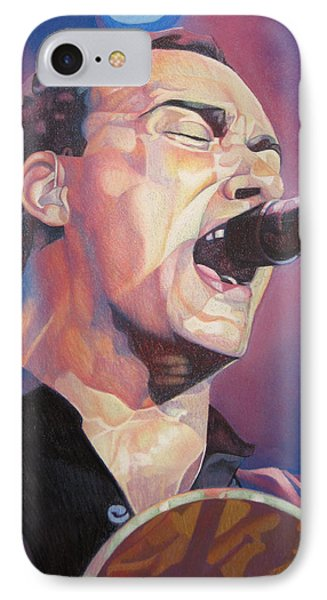 Dave Matthews Colorful Full Band Series IPhone Case by Joshua Morton