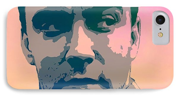 Dave Matthews Portrait Poster IPhone Case by Dan Sproul