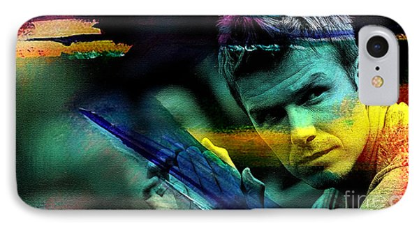 David Beckham IPhone Case by Marvin Blaine