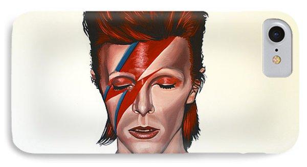 The iPhone 7 Case - David Bowie Aladdin Sane by Paul Meijering