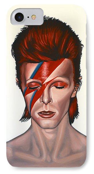 David Bowie Aladdin Sane IPhone Case