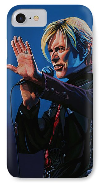 David Bowie Painting IPhone Case