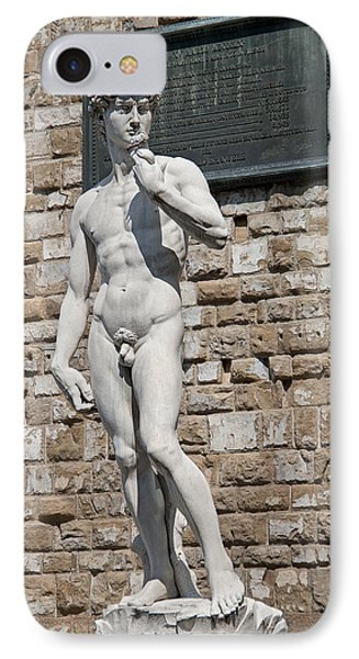 David By Michelangelo IPhone Case