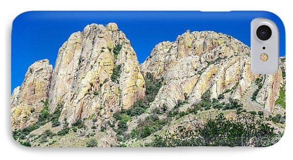 Davis Mountains Of S W Texas IPhone Case by Debra Martz