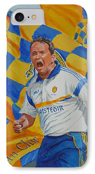 Davy Fitz Hurling Champion 2014 Phone Case by Tomas OMaoldomhnaigh