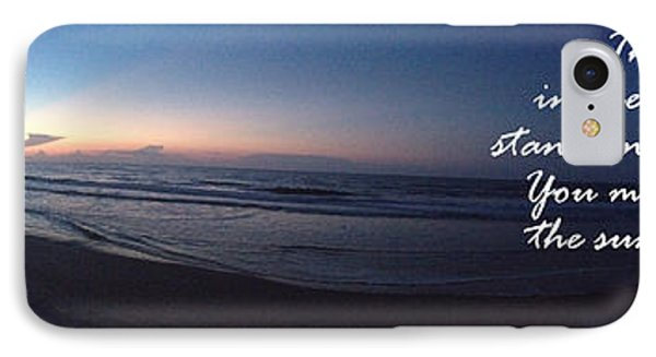 Dawn And Sunset Shout For Joy IPhone Case by Linda Mesibov