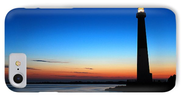 Dawn At Barnegat Light IPhone Case by James Kirkikis
