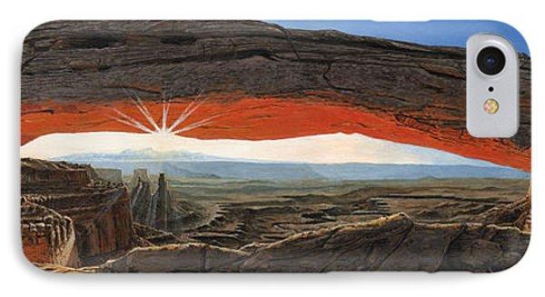 Dawn At Mesa Arch Canyonlands Utah IPhone Case