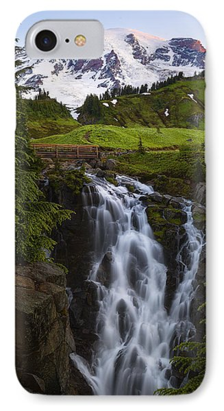 Dawn At Myrtle Falls IPhone Case