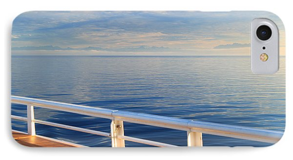 IPhone Case featuring the photograph Dawn At Sea by Jeanette French