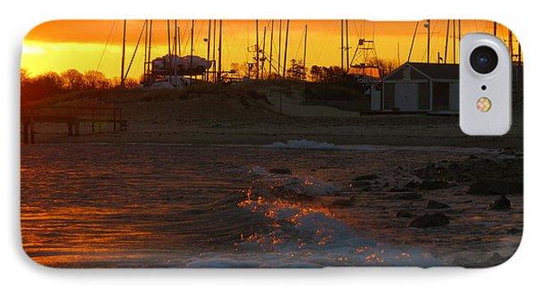 Dawn At Sesuit Harbor IPhone Case