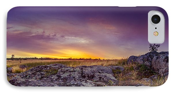 Dawn At Steppe IPhone Case by Dmytro Korol
