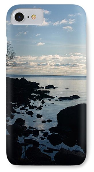 IPhone Case featuring the photograph Dawn At The Cove by James Peterson