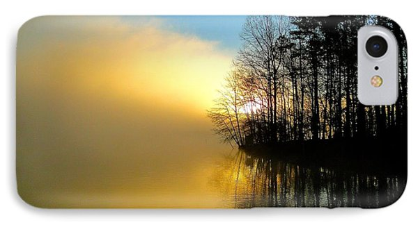 Dawn At Waters Edge IPhone Case by Cindy Croal