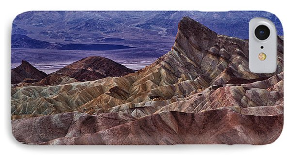 IPhone Case featuring the photograph Dawn At Zabriskie Point by Jerry Fornarotto