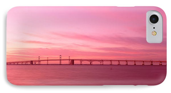 Dawn, Chesapeake Bay Bridge, Maryland IPhone Case