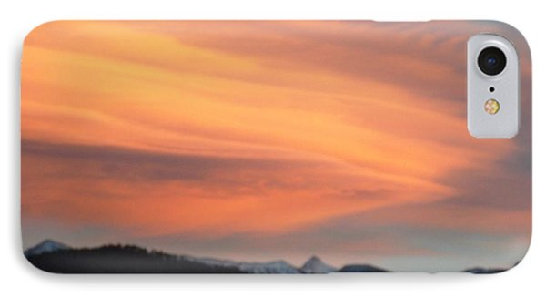 Dawn Glory Cloud Over El Valle IPhone Case by Anastasia Savage Ealy