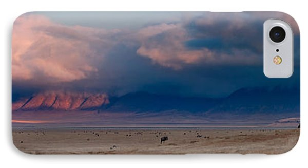 Dawn In Ngorongoro Crater IPhone Case by Adam Romanowicz