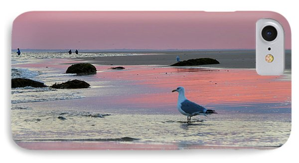 IPhone Case featuring the photograph Dawn In Pink by Dianne Cowen