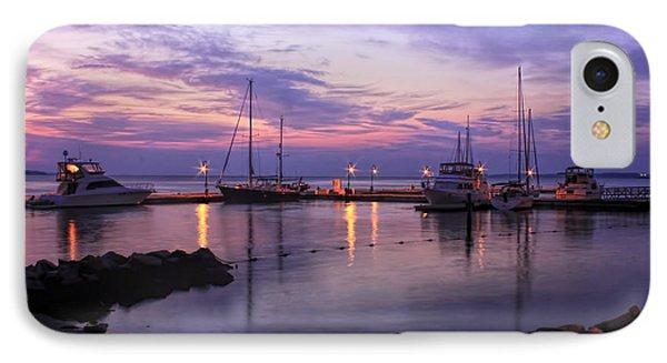Dawn In Yorktown Virginia IPhone Case by Olahs Photography
