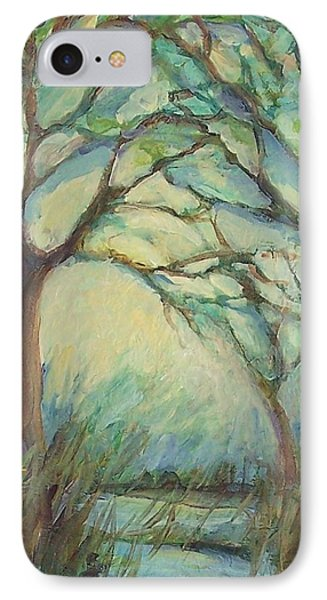 IPhone Case featuring the painting Dawn by Mary Wolf
