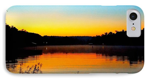 Dawn On Crown Cove IPhone Case by Cindy Croal